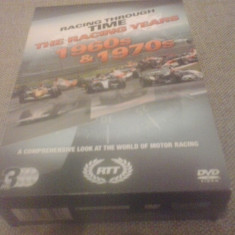 Racing through time - The racing years 1960s-1970s - 3 DVD - Film documentare, Engleza