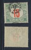 RFL ROMANIA 1919 supratipar Debretin II neemis pe Ungaria porto 15 filler