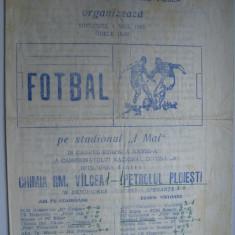 Chimia Rm. Valcea - Petrolul Ploiesti (1 mai 1983) - Program meci