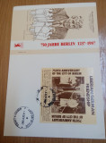 FDC Bloc Liberia 1987