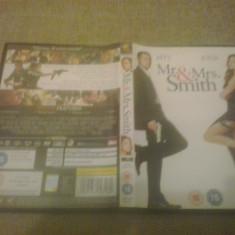 Mr & Mrs Smith - DVD - Film actiune, Engleza