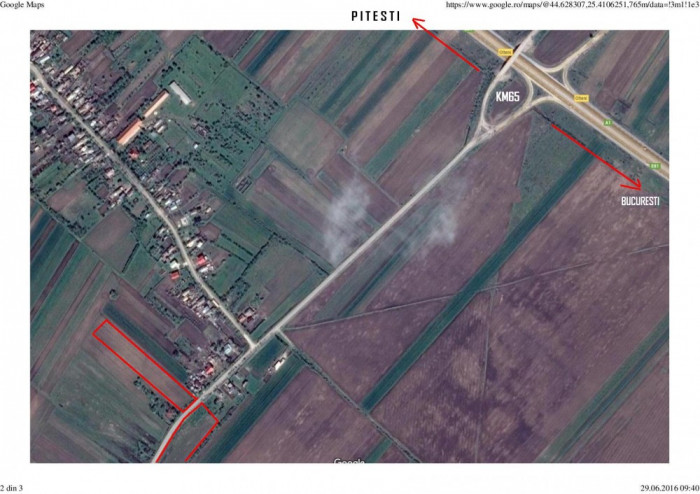 Vand  terenuri  in sat Olteni (Dambovi?a) foto mare