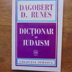 Dictionar de iudaism - Dagobert D. Runes (1997) - Carti Iudaism