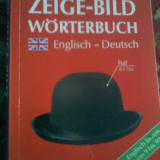 Dictionar vizual German Englez Zeige Bild