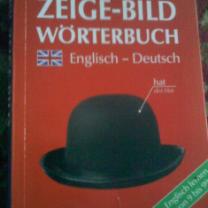 Dictionar vizual German Englez Zeige Bild Altele