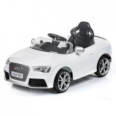 Masinuta electrica Audi RS05 white - Masinuta electrica copii Chipolino
