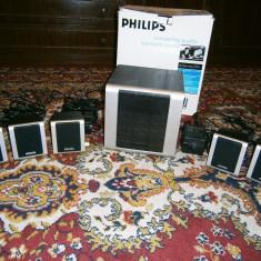Sistem boxe PHILIPS MMS260, 80 W, aproape nou! - Boxe PC