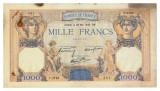 FRANTA 1000 FRANCS FRANCI CERES ET MERCURE 30-05-1940 U