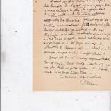 Scrisoare a lui I Bianu catre N Popescu