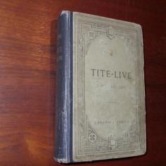 TITUS  LIVIUS  -  AB  URBE  CONDITA   XXl - XXll  ( editia 1920, ilustrata ) *