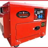 Generator Curent Electric-SWISS KRAFT - DIESEL -12V/220V/380V- 5,5 KW