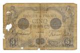 FRANTA 5 FRANCI FRANCS 1916 U