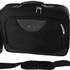 Geanta Genova pentru laptop 15, 6 inch, neagra - Geanta laptop ESPERANZA, Nailon, Negru