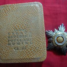 Ordinul Steaua Romaniei RPR clasa III -argint -in cutie originala