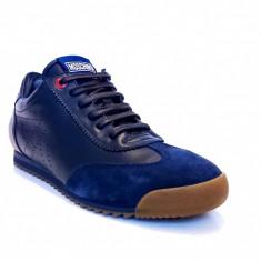 Sneakersi Moschino Made in Italy - Adidasi barbati Moschino, Marime: 40, Culoare: Bleumarin