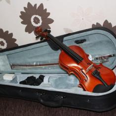 Set vioara clasica marime 1/8 copii incepatori/profesionisti Noua arcus+husa