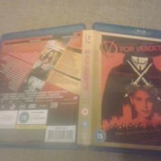 V for vendeta - BLU RAY - Film thriller, Engleza