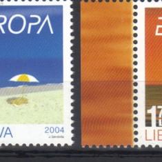 LITUANIA 2004, Europa CEPT, Vacanta, MNH, serie neuzata