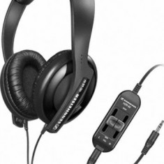 Casti Sennheiser HD 65 TV, Casti On Ear, Cu fir, Mufa 3, 5mm, Active Noise Cancelling