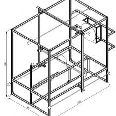 Proiect CNC profile mari, inclusiv coloane arhitecturale - Vanzare publicitate