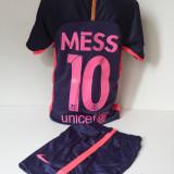 Echipament sportiv fotbal copii FC.Barcelona Messi nou cu roz marimea 176 - Set echipament fotbal, Marime: Alta