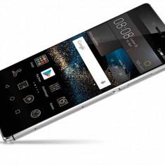 Huawei P8 Titanium Grey - IMPECABIL, cu accesoriile sigilate inca - Telefon Huawei, Gri, 16GB, Neblocat