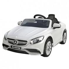 Masinuta electrica Mercedes Benz AMG white - Masinuta electrica copii Chipolino