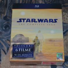 Film - Star Wars Complete Saga [9 Blu-Ray Discs] Subtitrare in Romana - Film SF Altele