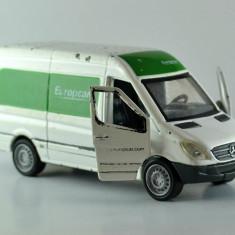 Macheta / jucarie masinuta metal, Mercedes EUROPCAR DICKIE cu motoras 1:43 #345 - Macheta auto Alta