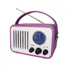 RADIO CLASIC CU PIELE AM/FM 3W - Telefon Orange