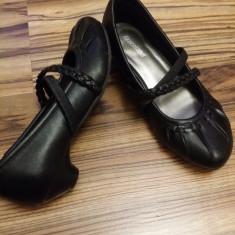 Pantofi fetite marimea 32 - Balerini copii, Marime: 31, Culoare: Negru