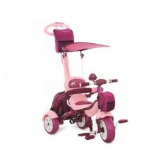 Tricicleta Pentru Copii Happy Trip Kr03b Roz - Tricicleta copii MyKids