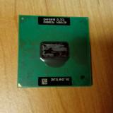 Procesor Laptop Intel Pentium M 725 SL7EG 1, 6GHz Socket 478, 1500- 2000 MHz, Numar nuclee: 1