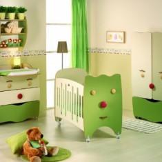 Mobilier dormitor bebelus babyroc - Produs in Spania - Set mobila copii Altele