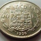 Moneda 100 Lei - ROMÂNIA, anul 1936 *cod 3488 DETALII EXCELENTE - Moneda Romania