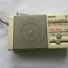 RADIO PORTABIL PHILIPS D-1400 2 BENZI