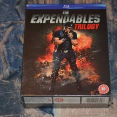 Film - The Expendables Trilogy [3 Filme - 3 Blu-Ray Discs], import UK - Film actiune lionsgate, Engleza