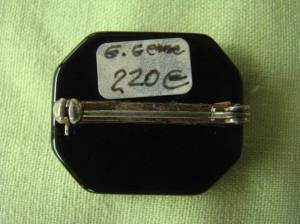 CAMEE Autentica in montura de Argint, Aur si Onix