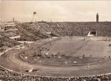 Foto fotbal-carte postala 1967 - Stadionul Hunderttausend LEIPZIG