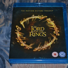 Film - Lord Of The Rings Trilogy [3 Filme - 3 Discuri Blu-Ray], Theatrical, UK - Film Colectie warner bros. pictures, Engleza