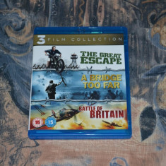 Film - 3 War Movies Collection [3 Filme, 3 Discuri Blu-Ray], import UK - Film Colectie Altele, Engleza