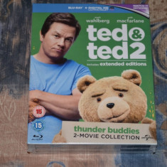 Film - Ted si Ted 2 [Extended] [2 Filme 2 Discuri Blu-Ray + UV], import UK - Film comedie universal pictures, Engleza