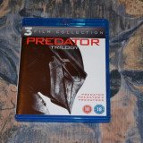 Film - Predator Trilogy [3 filme in format Blu-Ray], import UK - Film SF Altele, Engleza