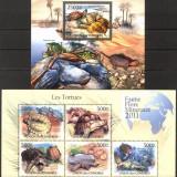COMORES 2011 BROASTE TESTOASE - Timbre straine, Nestampilat