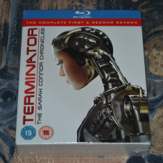 Film - Terminator: The Sarah Connor Chronicles 1 & 2 [Blu-Ray 8 Discs], Import - Film serial warner bros. pictures, SF, Engleza