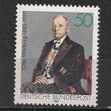 Germania.1983 100 ani nastere O.Warburg-chimist PREMIUL NOBEL SG.474 - Timbre straine, Nestampilat