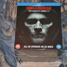Film - Sons Of Anarchy - Complete Series [23 Discs - Blu-ray], Import UK - Film serial Altele, Actiune, Engleza