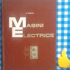 Masini electrice Vasile Nedelcu - Carti Electrotehnica