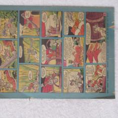 Revista vintage Disney Mickey and Donald colectie 1975 comic benzi desenate