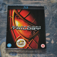 Colectia - Spider-Man [3 Movies on 3 Blu-Ray discs], Import UK - Film SF sony pictures, Engleza